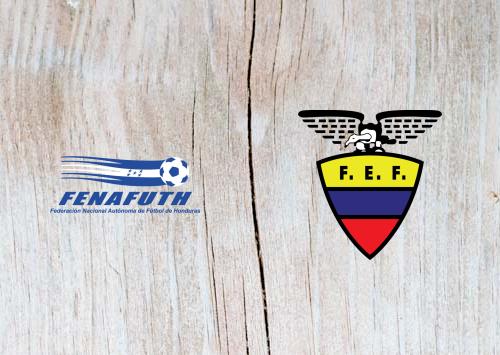 Honduras vs Ecuador - Highlights 27 March 2019