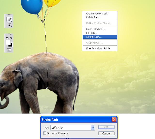 manipulasi photoshop, efek photoshop, manipulasi hewan