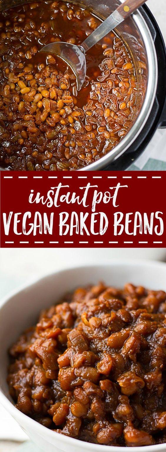 Vegan Baked Beans (Instant Pot Recipe)