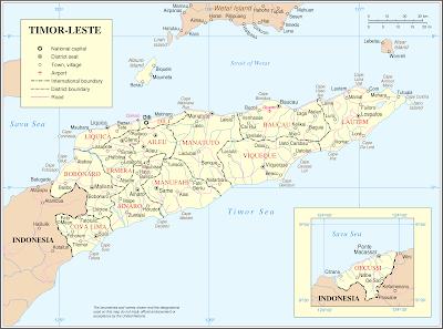 Letak Astronomis Timor Leste