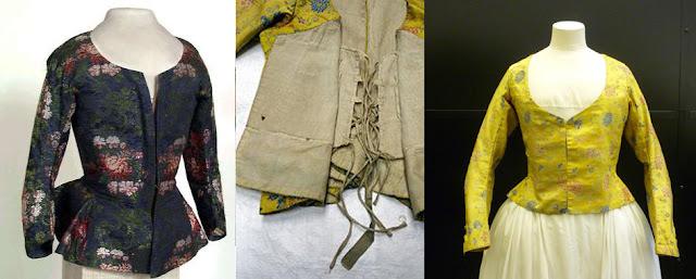 Jaquetas século XVIII
