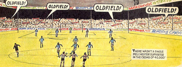 Oldfield's famous ground with over 40,000 fanatical supporters
