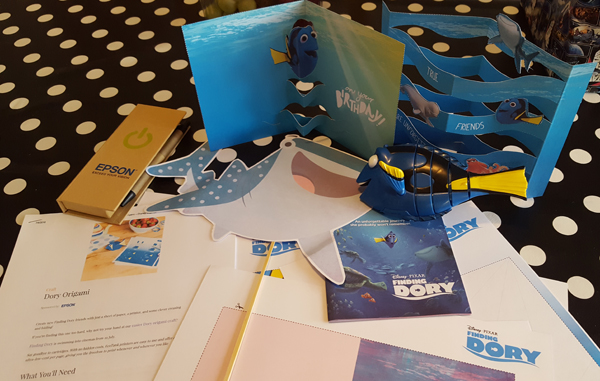 #PrintingDory Kids Crafts for the summer