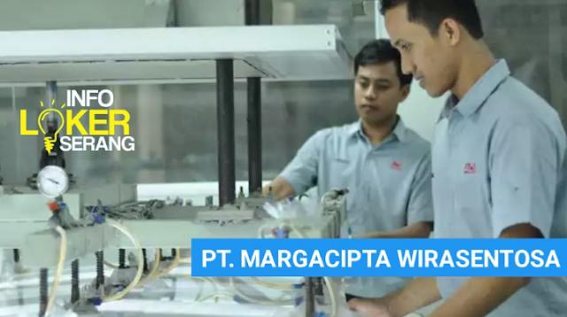 Lowongan Kerja Maintenance Team PT. Margacipta Wirasentosa Tangerang