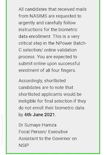 N power biometric screening