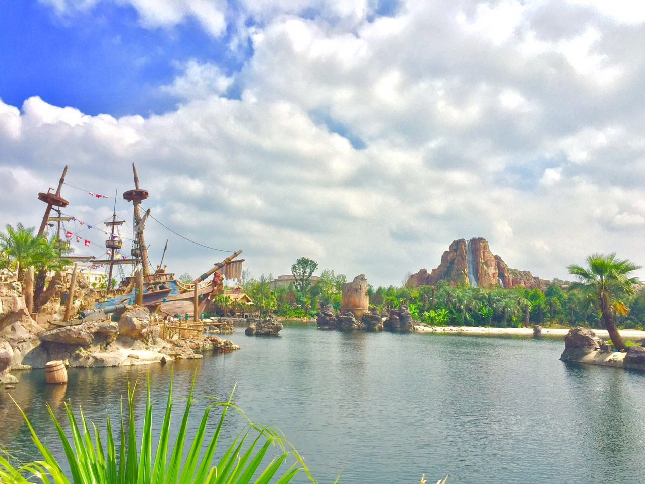 Shanghai Disneyland Treasure Cove