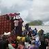 Vídeo mostra cargas sendo saqueadas durante greve de caminhoneiros na Bahia