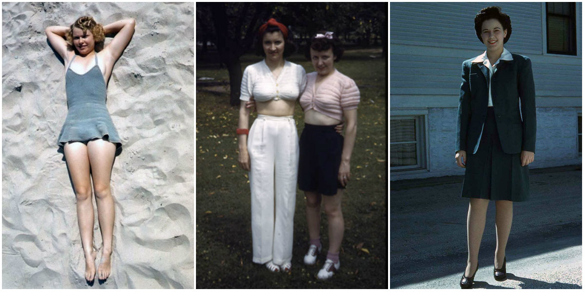 Kodachrome Girls: 40 Extraordinary Color Snapshots That Capture Everyday Women's Style of the 1940s