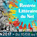 #RLDN2017 Rentrée littéraire du Net