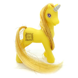 My Little Pony Golden Glow Unicorn Ponies with Magic Wings II G2 Pony