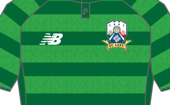 FC岐阜 2018 ユニフォーム-FP-1st-ゴールキーパー-3rd