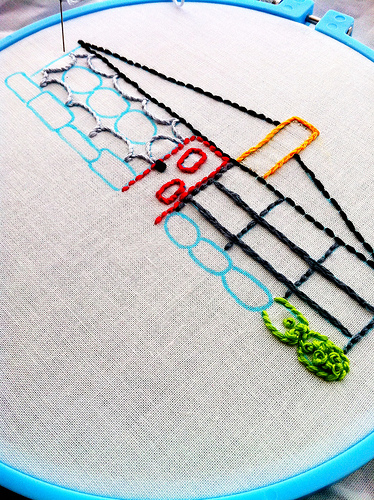 A Stitchin' Summer {pattern #3}