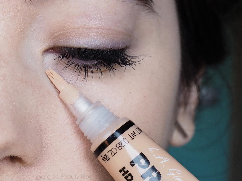 La Girl Line Art Matte Eyeliner Review : L a girl pro conceal hd concealer mateja s beauty