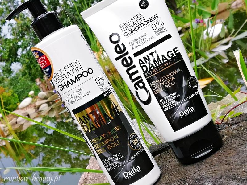 delia-cameleo-kosmetyki-opinie-wlosy-zniszczone-keratynowy-szampon-odzywka