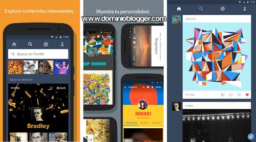 Comparte tus mejores ideas y creaciones en Tumblr