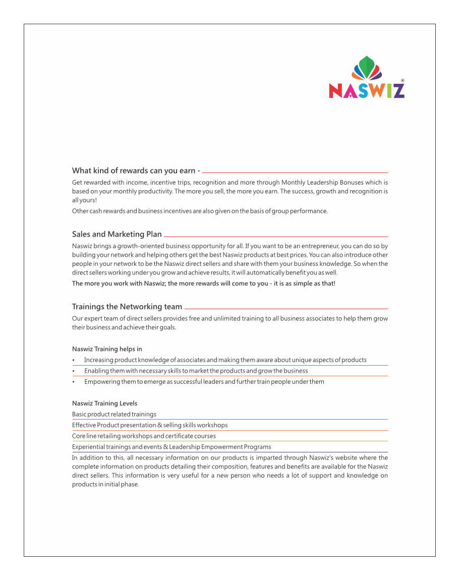 naswiz business plan ppt