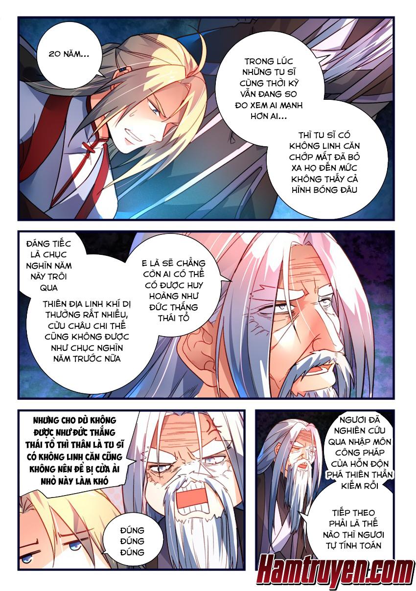 Tung Tiền Hữu Tọa Linh Kiếm Sơn Chap 366 - Trang 6