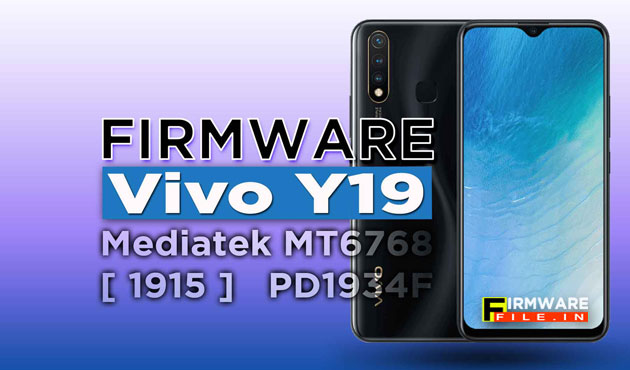 Firmware Vivo Y19