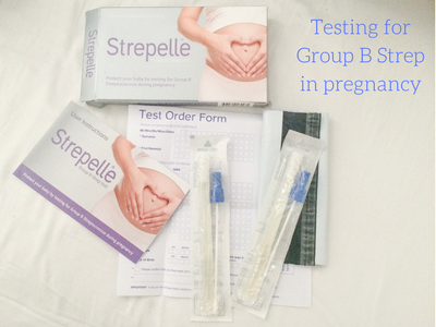 Group B Strep test in pregnancy with Strepelle