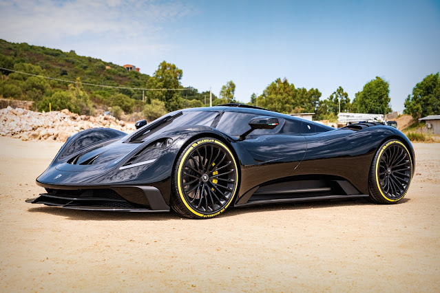 Great marques choose Salon Privé to unveil their latest models - photo ARES S1 Project