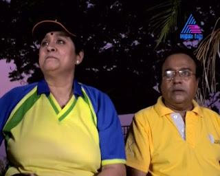 Arya Sreeram Mallu Serial Actress In Set Saree New Photos