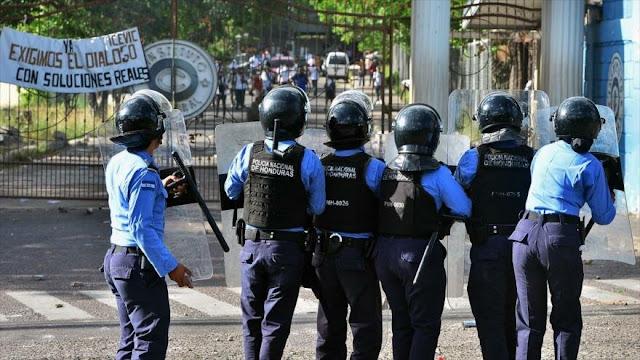 """AI condena """"represión"""" de Gobierno contra manifestantes en Honduras"""