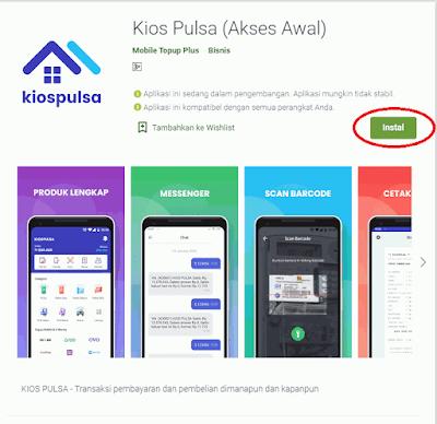 Cara Download dan Menggunakan Aplikasi Android KIOS Mobile Topup