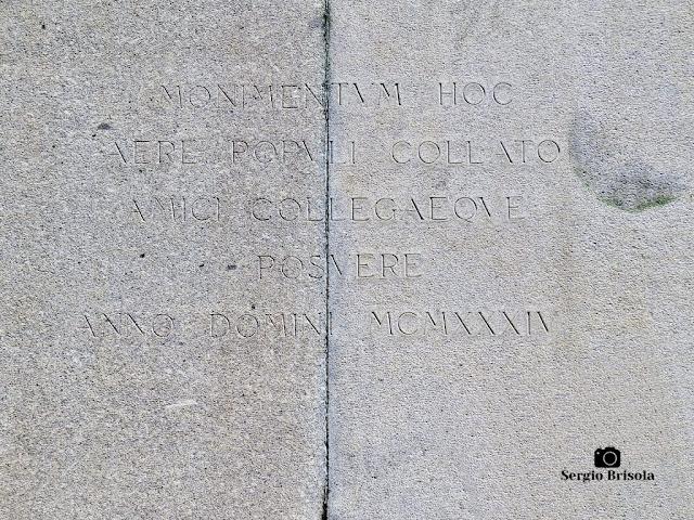Monumento a Ramos de Azevedo (inscrição 2)