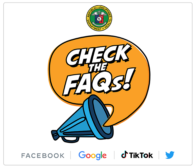 DOH announced #ChecktheFAQS campaign to combat vaccine misinformation
