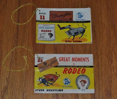 1950年代 Wrangler販促品 小冊子 ギミーブック BOOK 11とBOOK 25