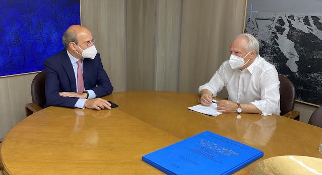 Συνάντηση Ανδριανού με Χατζηδάκη για το ΕΦΚΑ Άργους