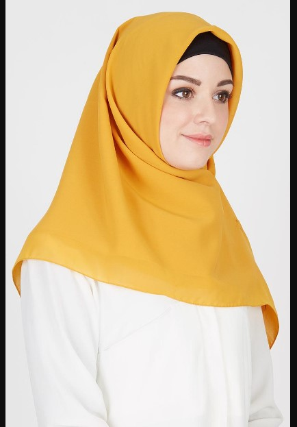 Choose Hijab Mustard for Contrasting Styles