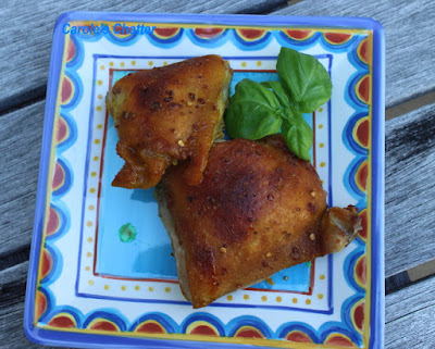 Carole's Chatter: Oven Baked Chicken Thighs