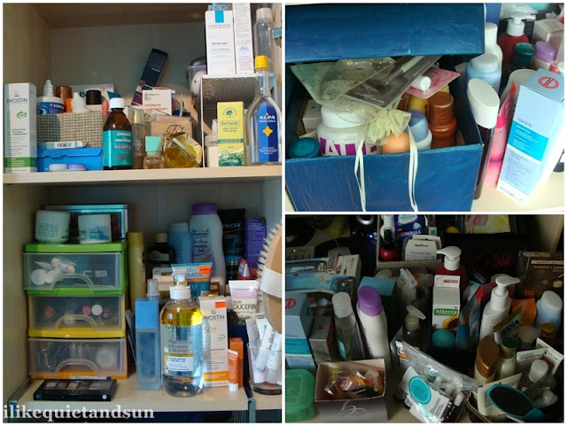 Bałagan w kosmetykach, hoarding