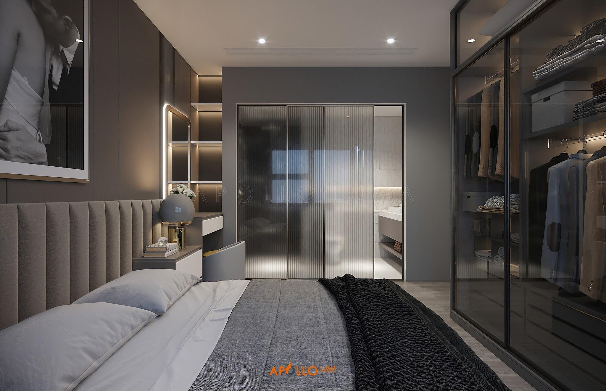 Thiết kế nội thất căn hộ 2PN+1 Imperia Smart City Tây Mỗ