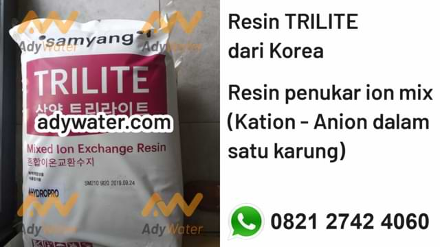 jual resin cation ADY WATER
