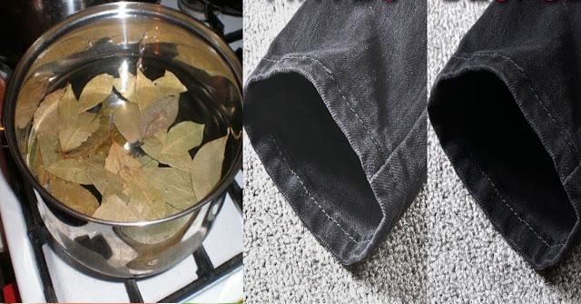 Remède maison au laurier et au bicarbonate pour récupérer les vêtements décolorés