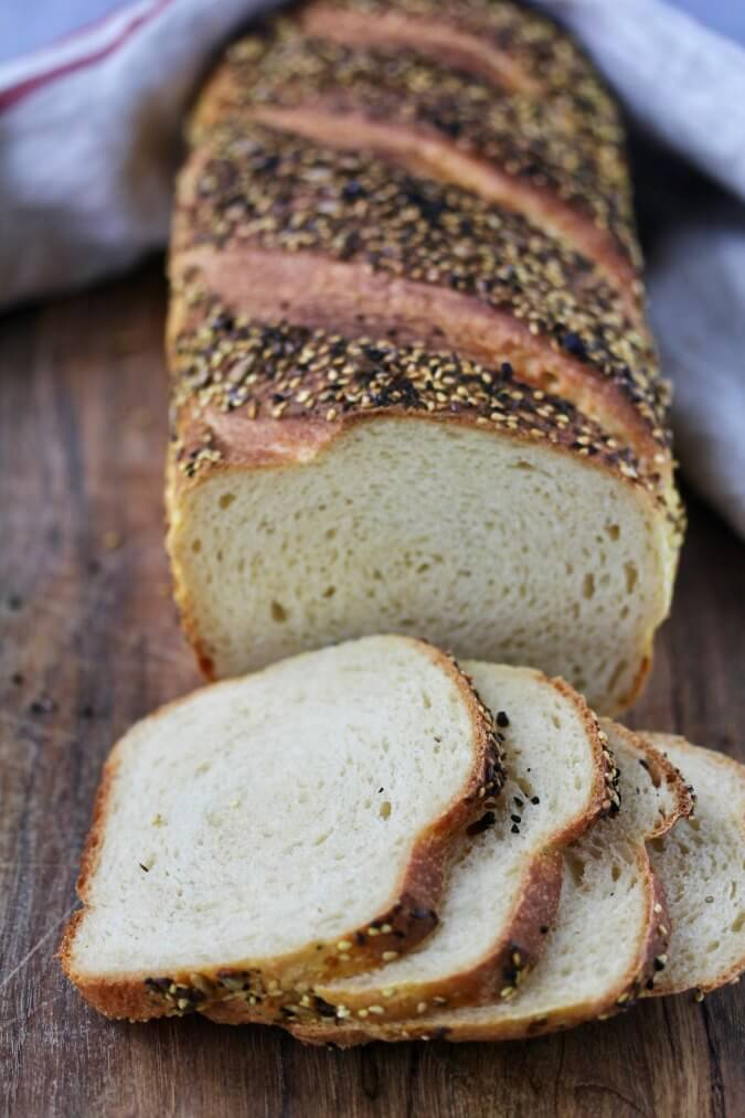 Seeded Sandwich Bread slices