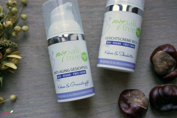 Gesichtscreme rich und Anti Aging-Öl, mysalifree