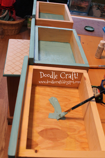 Draw - Stenciling And Staining