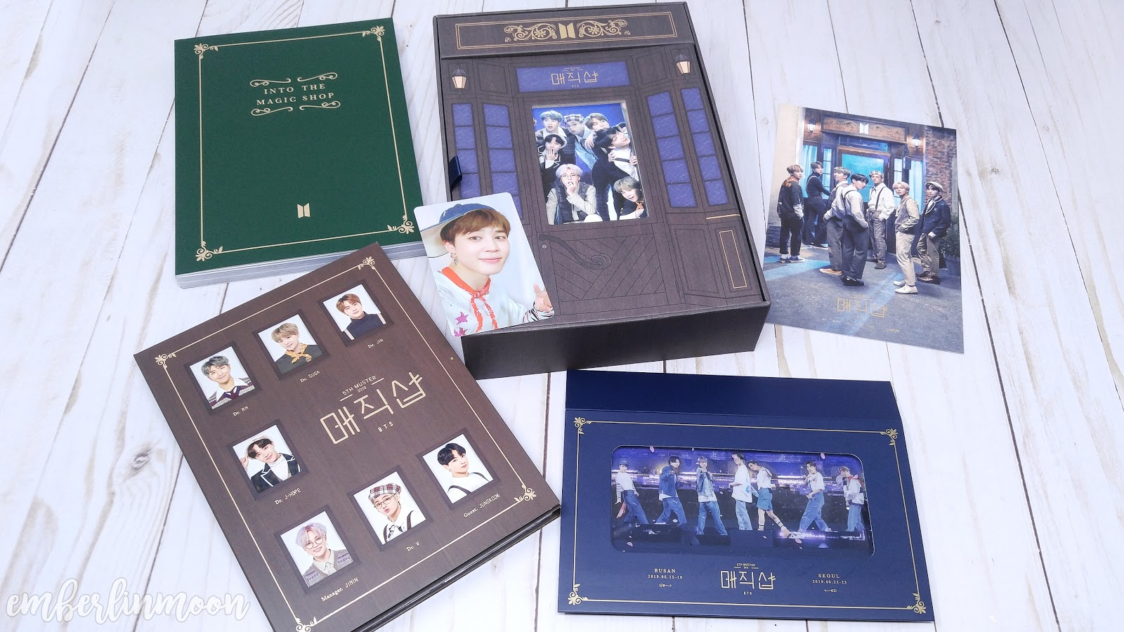 Unboxing Bts 5th Muster Magic Shop Dvd Youtube