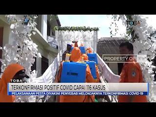 Kabupaten Toba Terkonfirmasi Positif Covid 19 Capai 116 Kasus