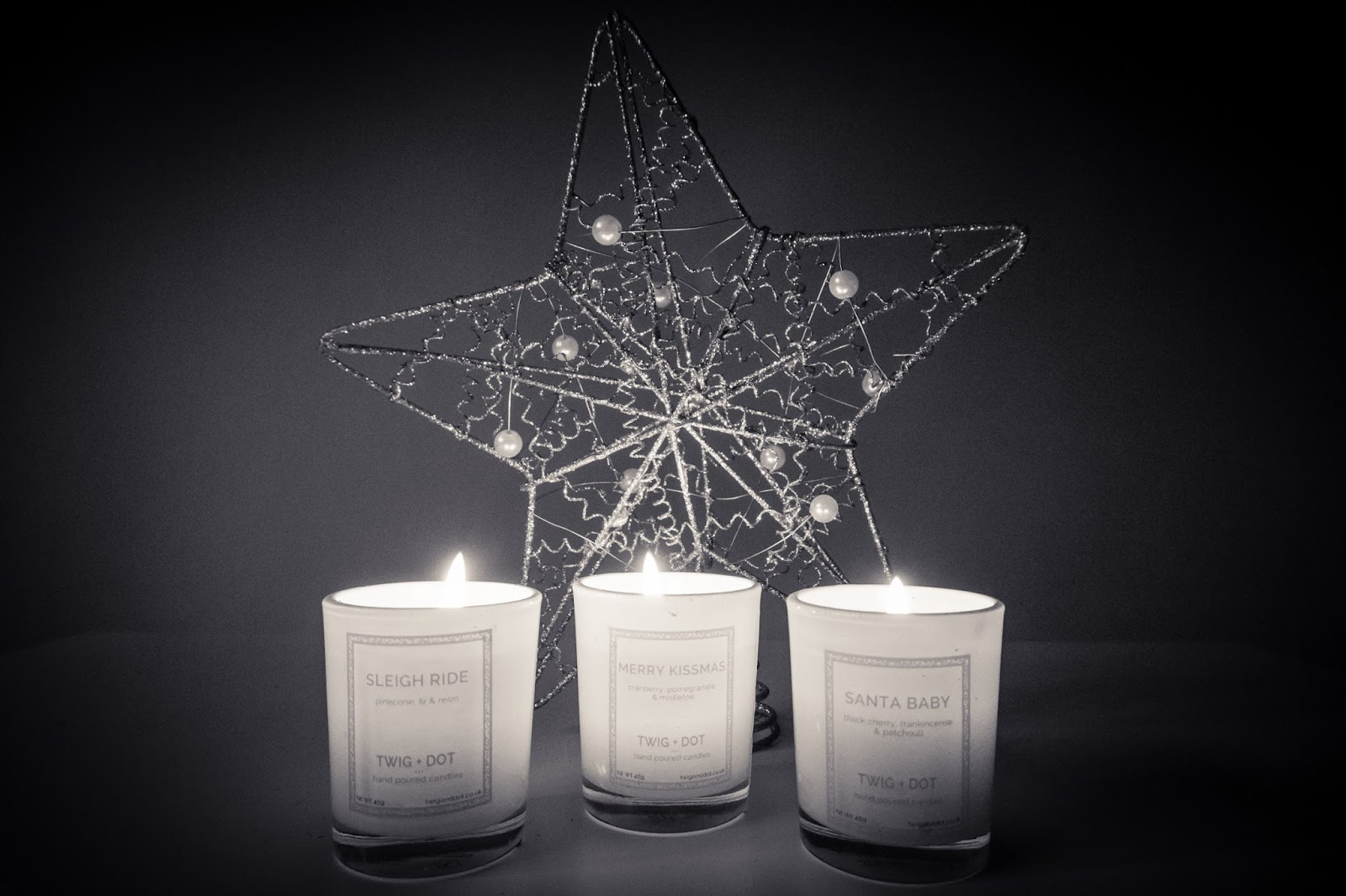 Twig + Dot: The Christmas Candle Edit