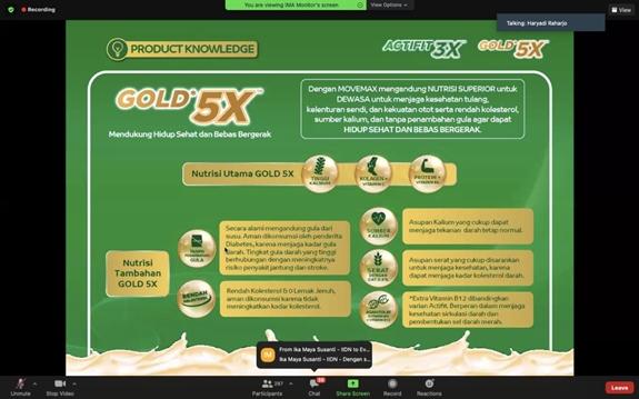 Anlene Gold 5X