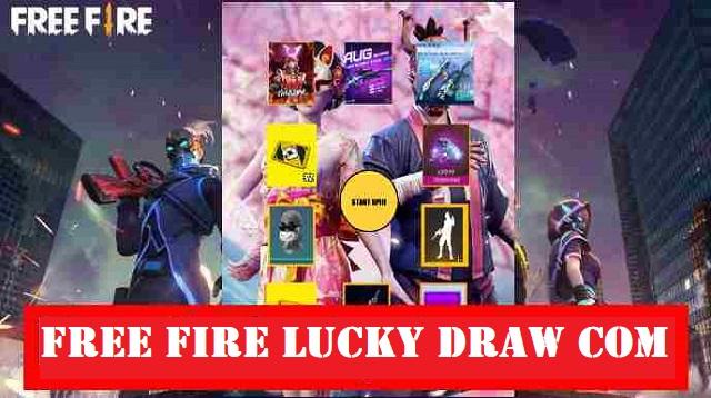 Free Fire Lucky Draw Com
