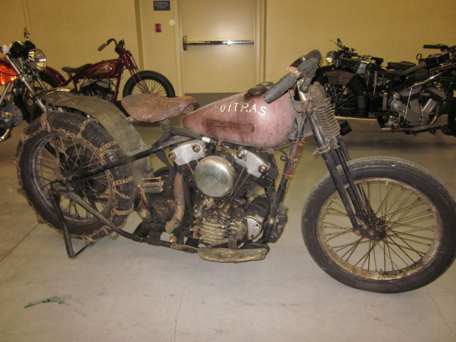 Barber Motorcycle Museum >> OldMotoDude: 1942 Harley Davidson Hill Climber on display