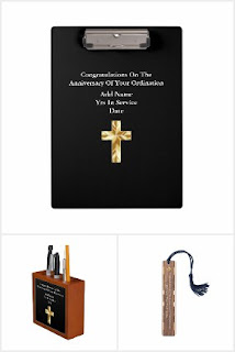 Priest installation gift ideas new personalized