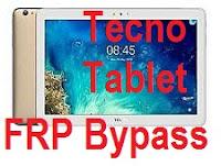 Tecno DroidPad 10D FRP Bypass.