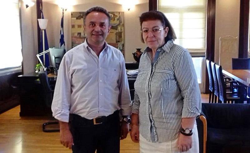 Με την Υπουργό Πολιτισμού για θέματα του Έβρου συναντήθηκε ο Σταύρος Κελέτσης