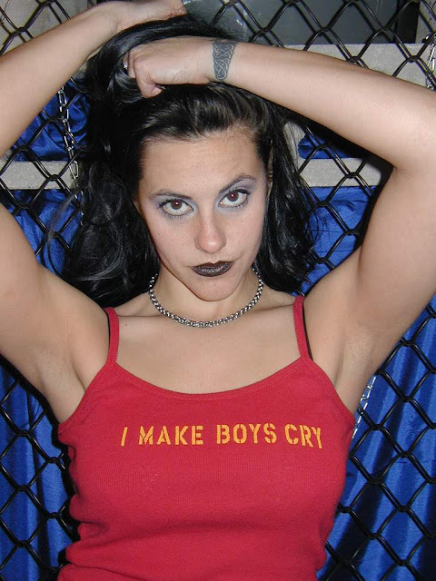 Daffney 'I Make Boys Cry' shirt. PYGear.com
